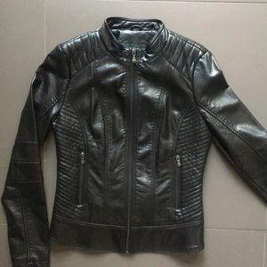 GUESS Black Moto Jacket